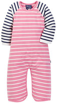 Toobydoo Coralie Striped Jumpsuit (Baby Girls)