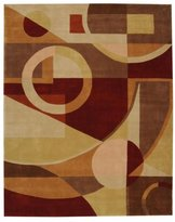Safavieh Multicolor Rug with Geometric Shapes (2 ft. 6 in. x 8 ft. Runner)