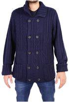 Trussardi Wool Blend Knit Jacket