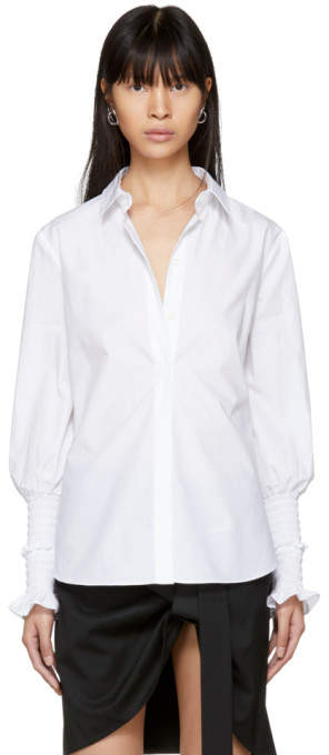 Altuzarra White Jorda Shirt