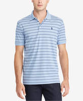 Polo Ralph Lauren Men's Big & Tall Classic-Fit Striped Soft-Touch Polo