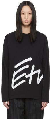 Études Black Wonder Sign Long Sleeve T-Shirt