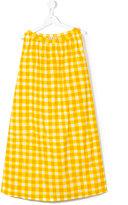 Marni sleeveless checked dress - kids - Cotton - 14 yrs