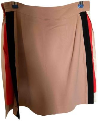 MSGM Beige Skirt for Women