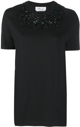 Blumarine Stud-Embellished T-Shirt