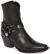 Charles David Polo Leather Bootie
