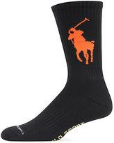 Polo Ralph Lauren Athletic Polo Crew Socks