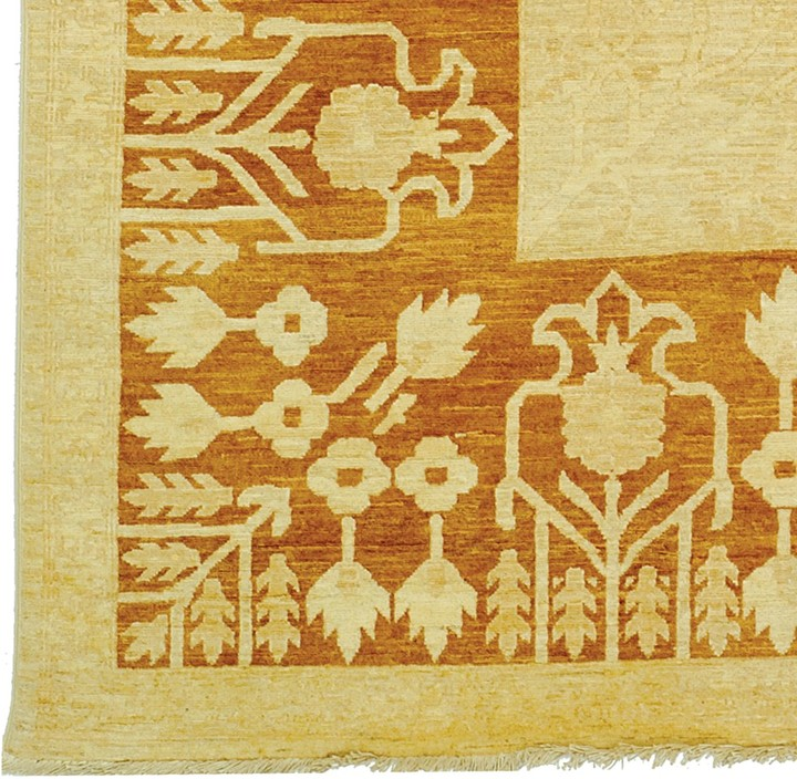 Williams-Sonoma Golden Wheat Peshawar Rug