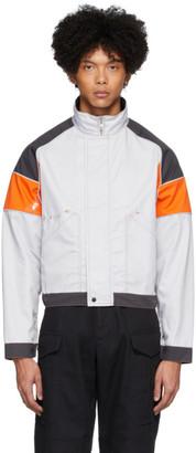 AFFIX Grey and Orange Work Jacket