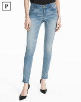 White House Black Market Petite Embellished Skimmer Jeans