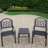 Rochester Outdoor Arm Chair 3-piece Set