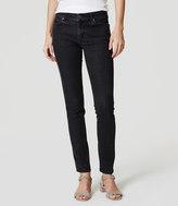 LOFT Curvy Skinny Jeans in Dark Grey Wash