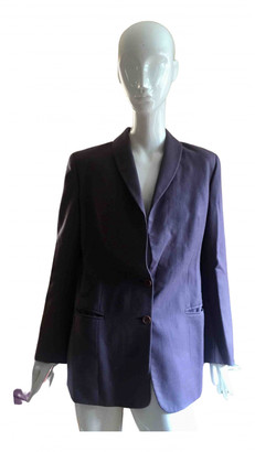 Christian Dior Purple Wool Jackets