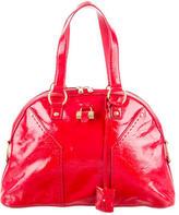 Saint Laurent Muse Patent Leather Bag