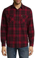 Coleman Long Sleeve Plaid Button-Front Shirt