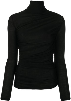 Giambattista Valli Fine Knit Roll Neck