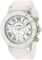 A Line A_Line Women's 20101DV Marina Chronograph Textured Dial Silicone Watch