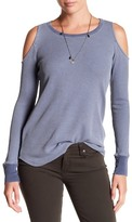 Splendid Cold Shoulder Thermal Shirt