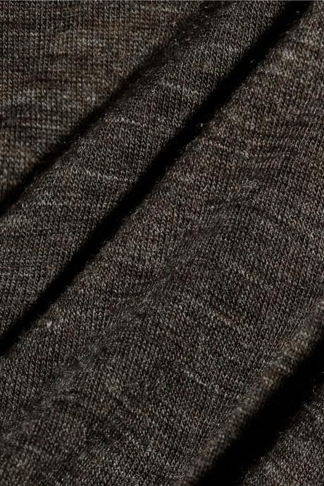 Rick Owens LILIES draped stretch-jersey maxi dress