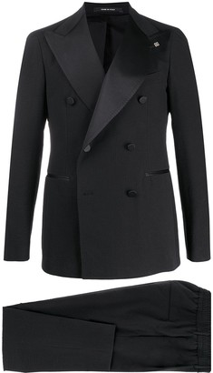 Tagliatore Double-Breasted Slim Fit Suit