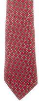 Hermes Geometric Silk Tie