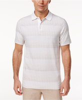 Tasso Elba Men's Pima Jacquard Polo, Only at Macy's
