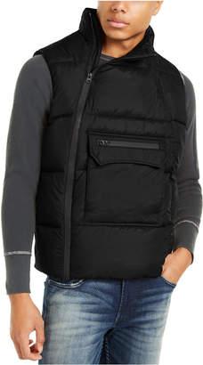 American Stitch Men Side Zip Puffer Vest
