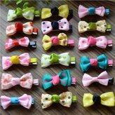 IRISMARU Sweet Baby Girls Hair Clips Kids Ribbon Hairpins Alligator Bow Clips