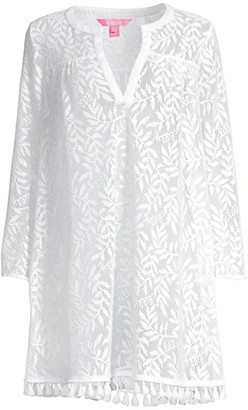Lilly Pulitzer Kizzy Lace Cover-Up Dress