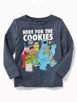 """Old Navy Sesame Street® """"Here For the Cookies"""" Tee for Toddler Boys"""