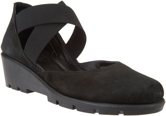 The Flexx Suede Cross-Band Mary Janes - Get Back