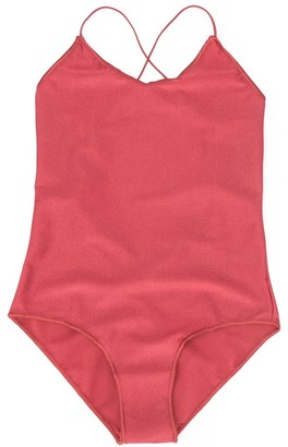 Oseree Kids Lace Back Swimsuit