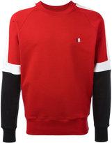 Ami Alexandre Mattiussi tricolour sweatshirt - men - Cotton - S
