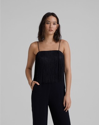 Club Monaco Fringe Jumpsuit