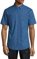 Ecko Unlimited Unltd Short Sleeve Button-Front Shirt