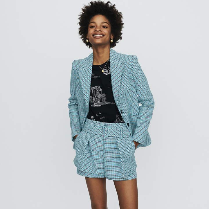 Maje Suit tweed-style jacket