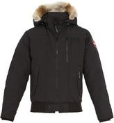 Canada Goose Borden fur-trimmed bomber jacket
