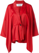 Chalayan layered sleeve fitted jacket - women - Spandex/Elastane/Acetate/Viscose - 42