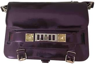 Proenza Schouler PS11 Purple Patent leather Handbags