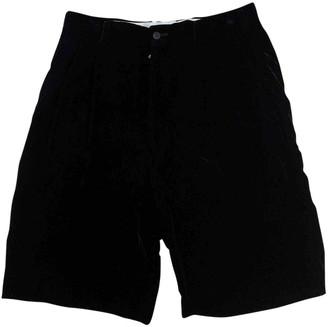 Comme des Garcons Black Cloth Shorts for Women