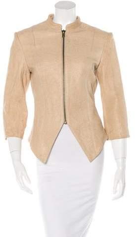 Thomas Wylde Embellished Leather Jacket w/ Tags