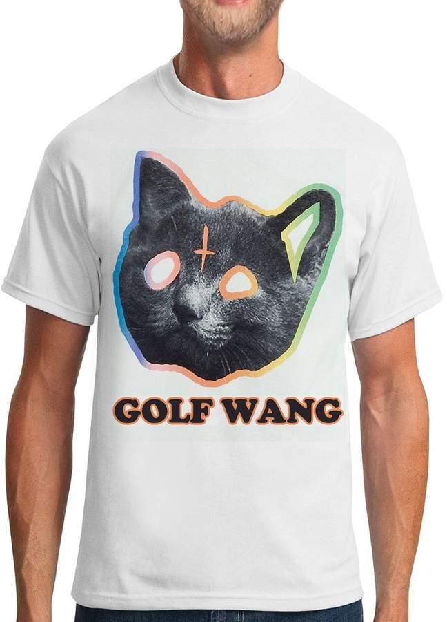 By Young Men's OFWGKTA GOLF WANG ODD FUTURE TYLER THE CREATOR CAT Short Sleeve Cotton T-shirts
