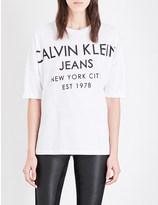 Calvin Klein Twain cotton-jersey t-shirt