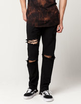 UNCLE RALPH Extreme Destruction Mens Skinny Jeans