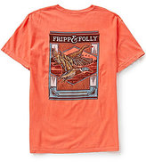 Fripp & Folly Men's Two Ducks Short-Sleeve Graphic Tee