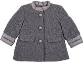 Moncler WOOL-BLEND DRESS COAT