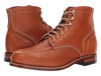 Wolverine Heritage 1000 Mile 1940 Boot (Tan Leather) Men's Lace-up Boots