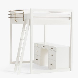 Pottery Barn Teen Waverly Loft & Storage Desk Set