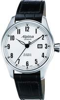 Alpina Men's AL525SC4S6 Aviation Analog Display Swiss Automatic Black Watch