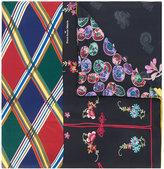 Pierre Louis Mascia Pierre-Louis Mascia contrast print scarf